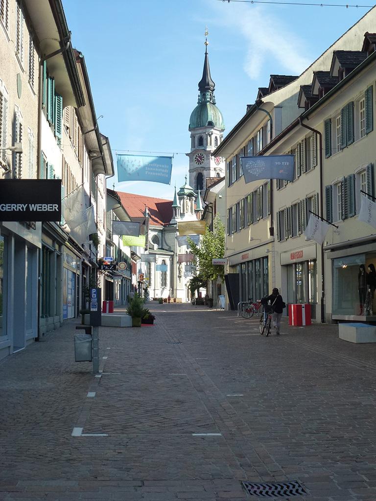 Innenstadt von Frauenfeld