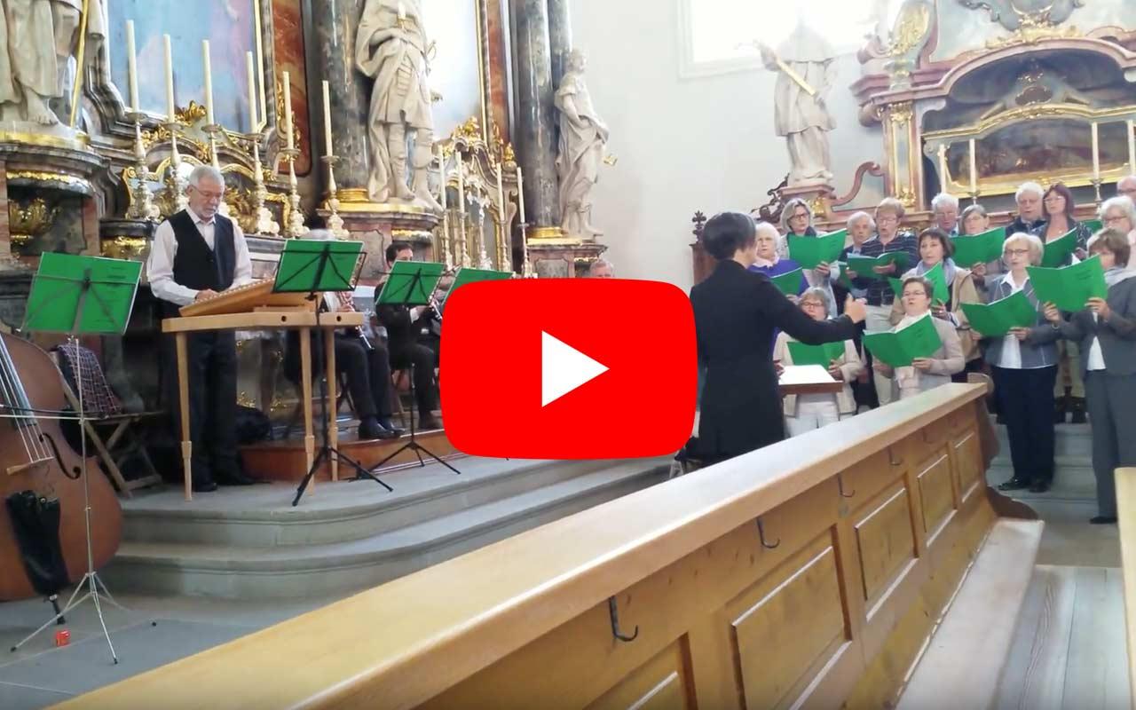 Kirchenchor Schwyz: Auffahrtstag vom 30.5.2019