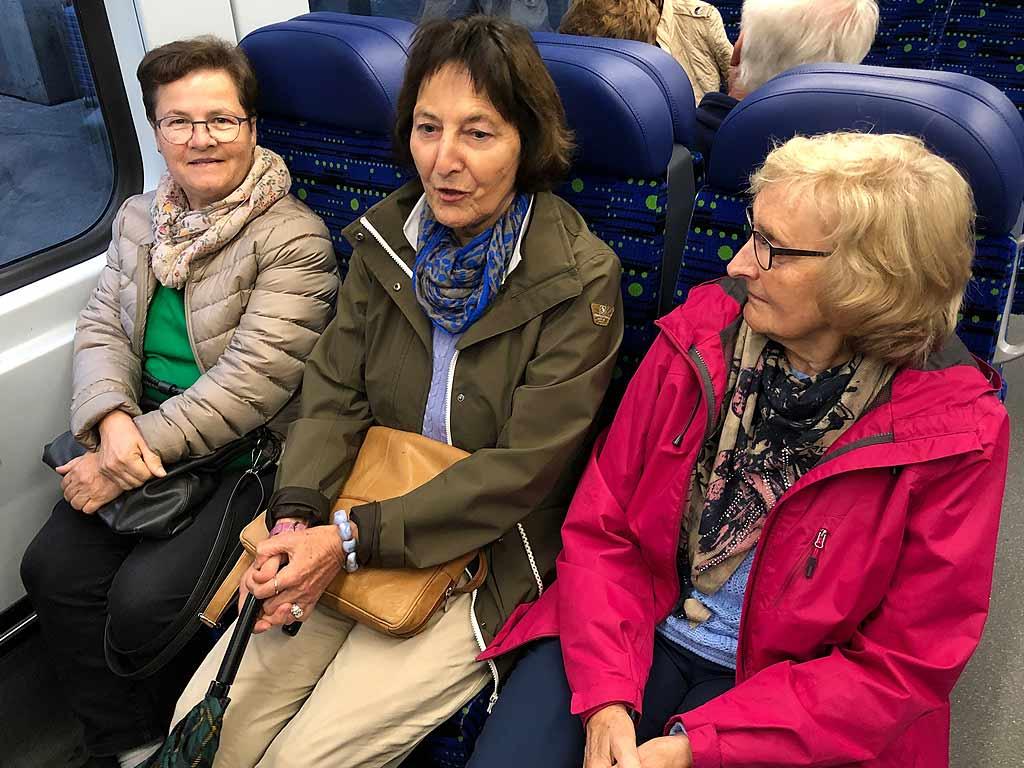 Drei Sopranstimmen der Mitglieder vom Kirchenchor Schwyz